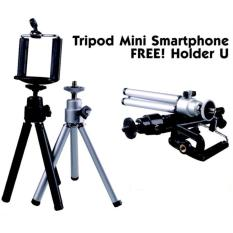 Aimons Smartphone Tripod Mini + Holder U - Random Colour