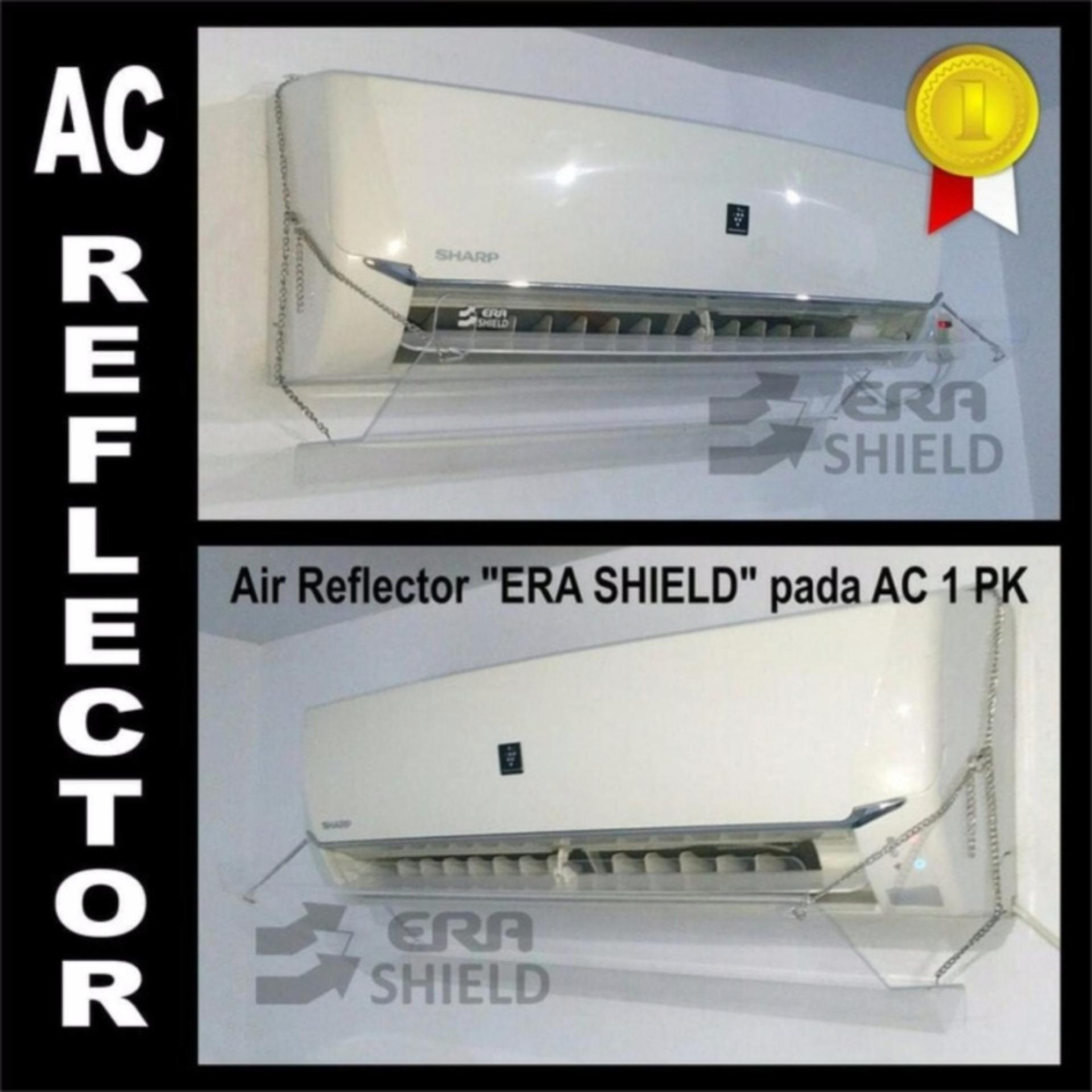 Air Conditioner Acrylic Reflector Penghalang Penahan Udara Shield Talang AC 90 cm