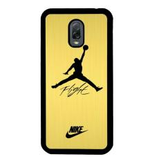 Air Jordan Flight Signature Nike Gold L1551 Samsung Galaxy J7 Plus Custom Hard Case