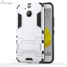 Airress TPU/PC 2in1 Armor Rugged Kelas Militer Phone Case Cover untuk HTC 10 EVO HTC Bolt (Silver) -Intl