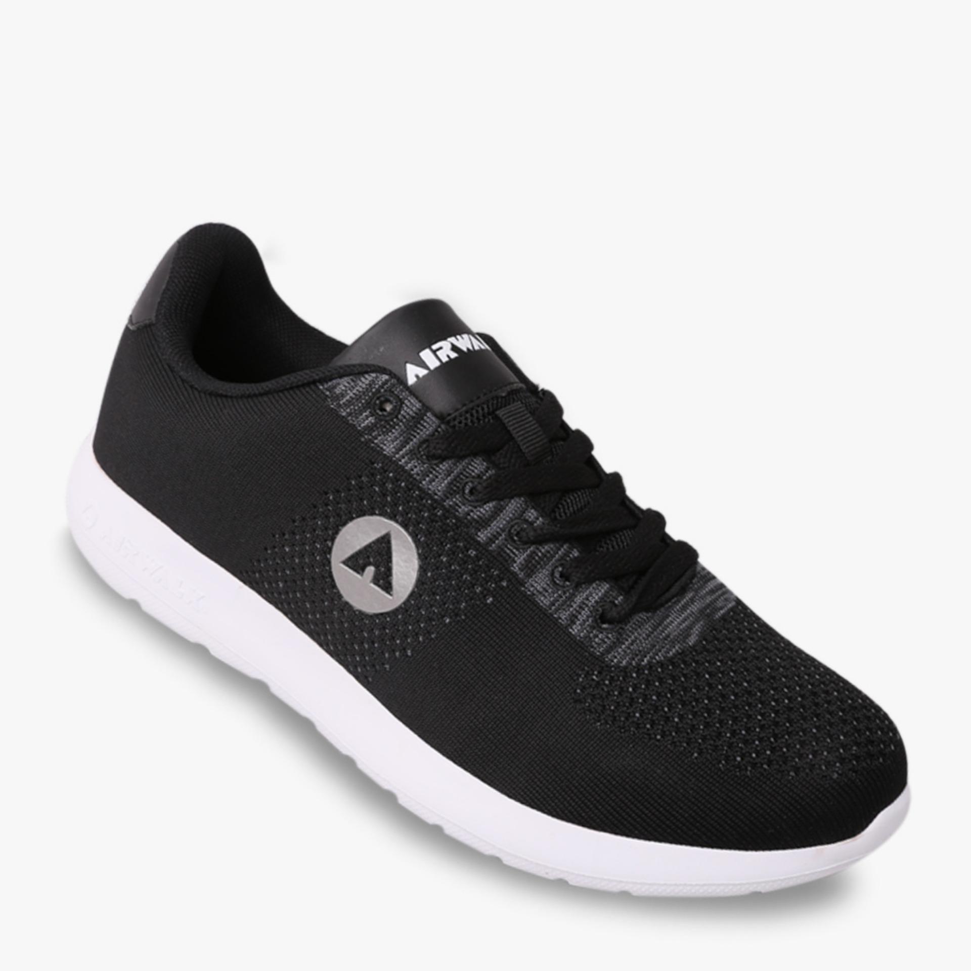 Harga Airwalk Hofman Men S Sneakers Shoes Hitam New