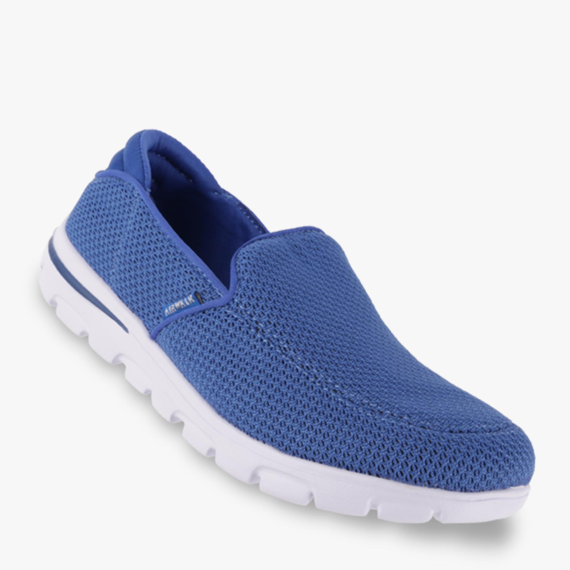 Airwalk Jalvaro Sepatu Sneakers Pria - Biru