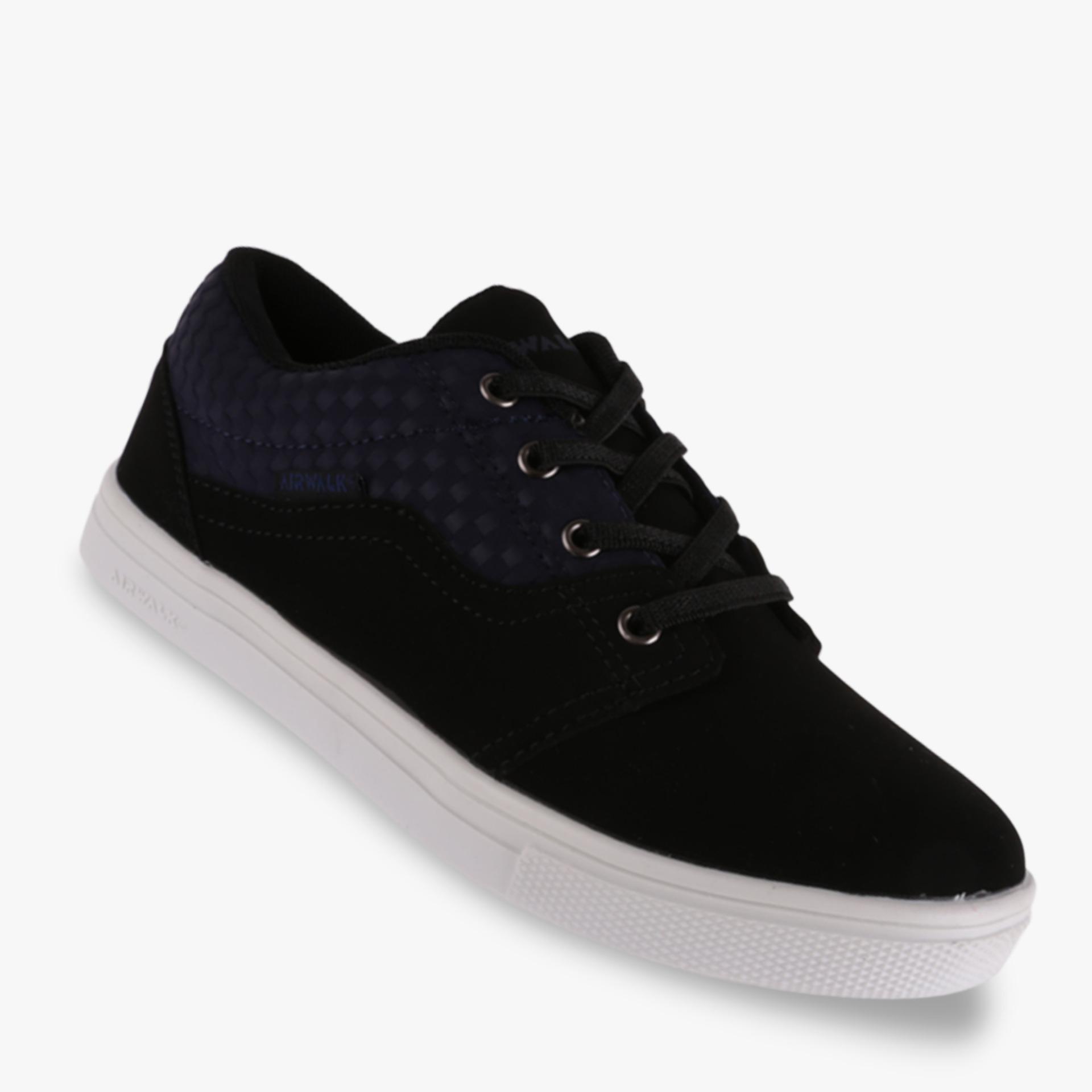 Airwalk Jarri Jr Boy's Sneakers Shoes - Hitam