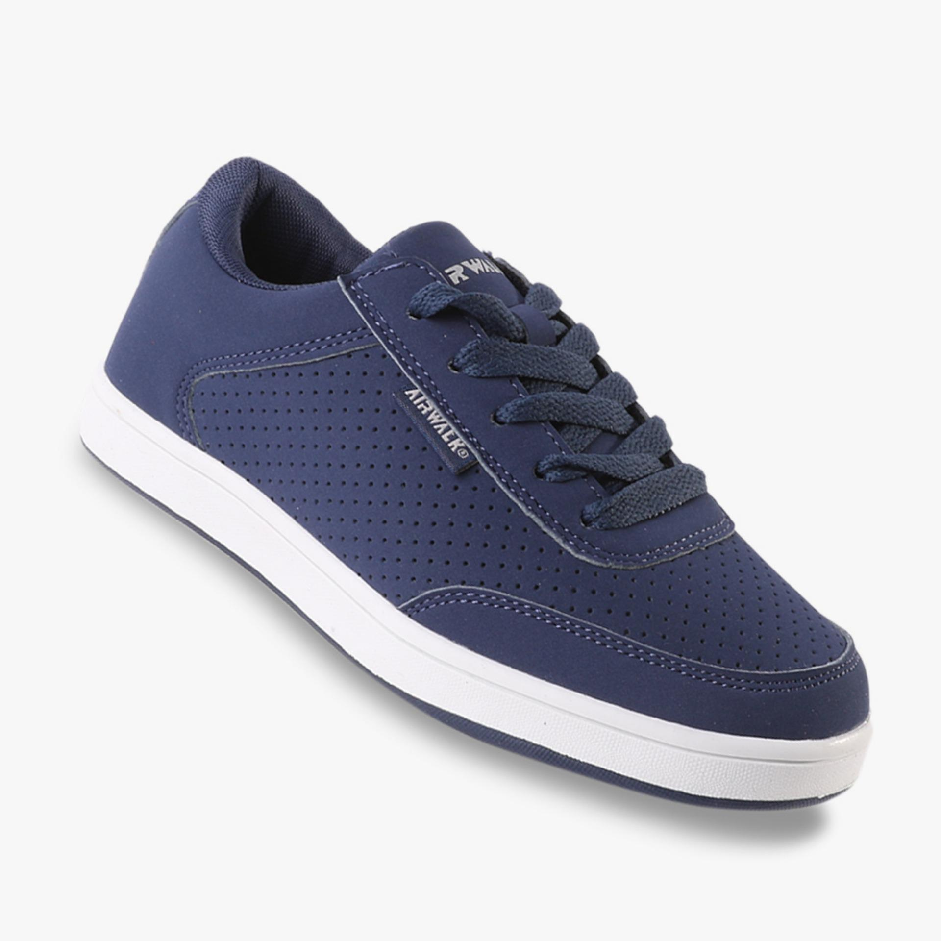 Jual Airwalk Jayce Jr Boys Sneakers Shoes Navy Branded