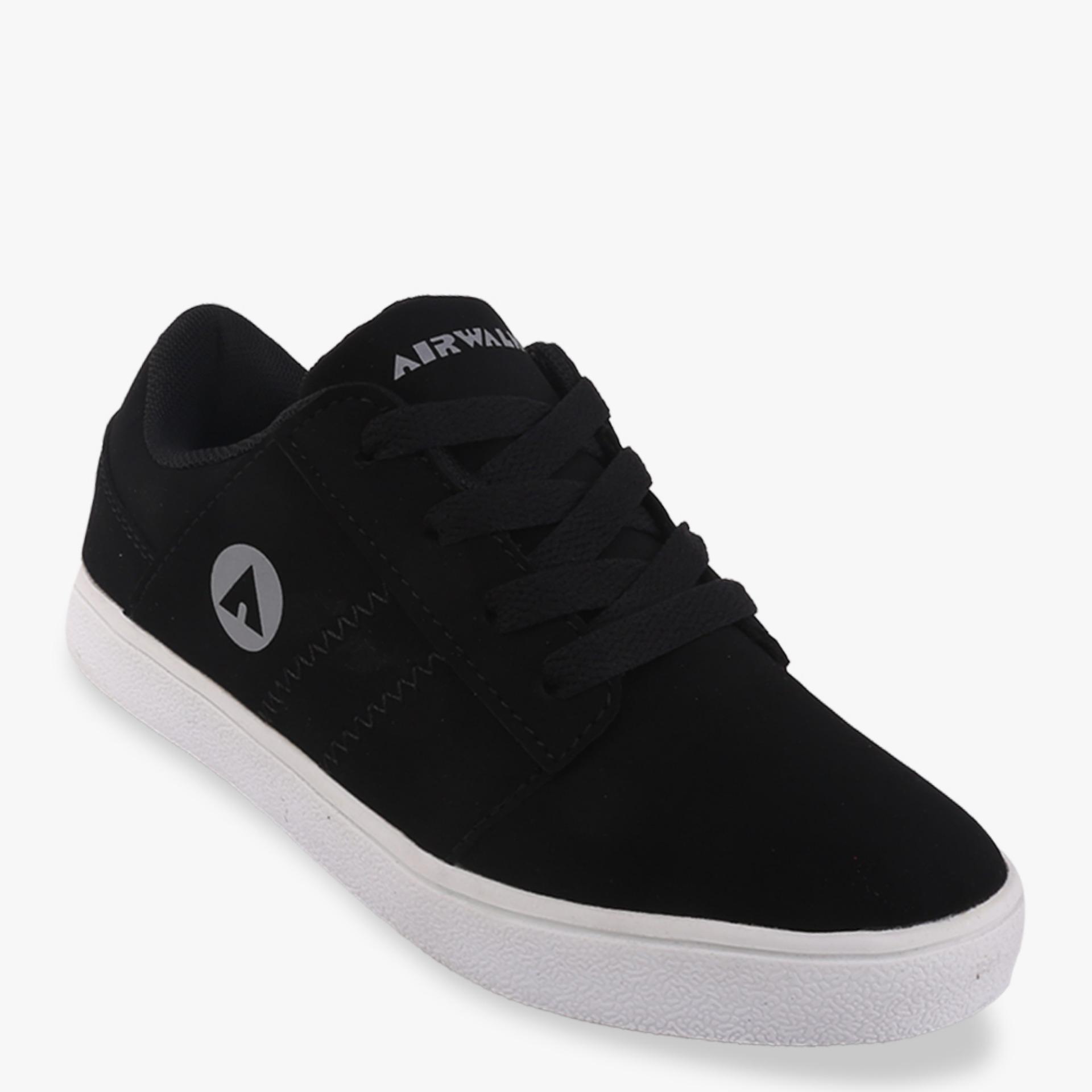 Jual Airwalk Jordan Boys Sneakers Shoes Hitam