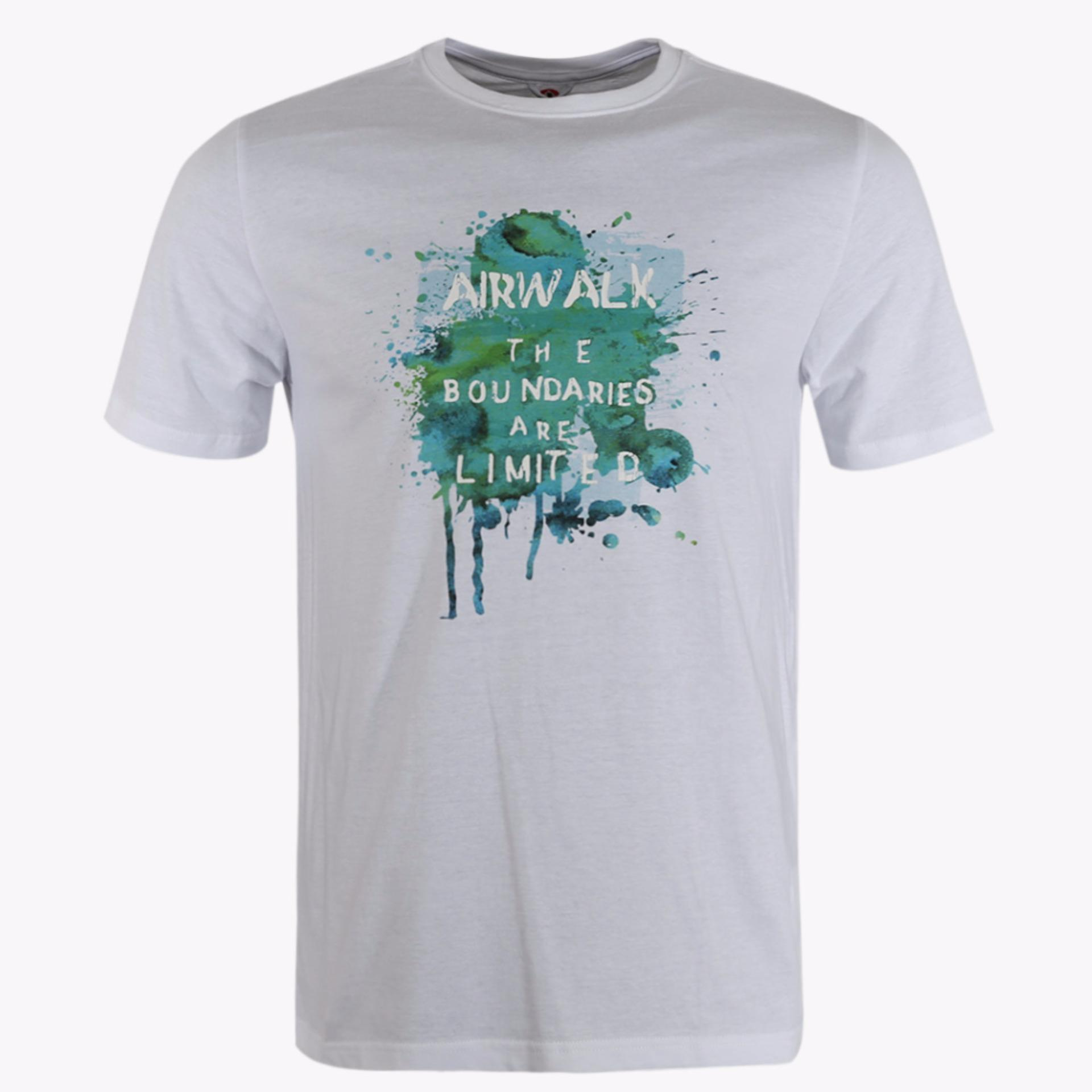 Beli Airwalk Natsuo Men S Casual Tee Putih