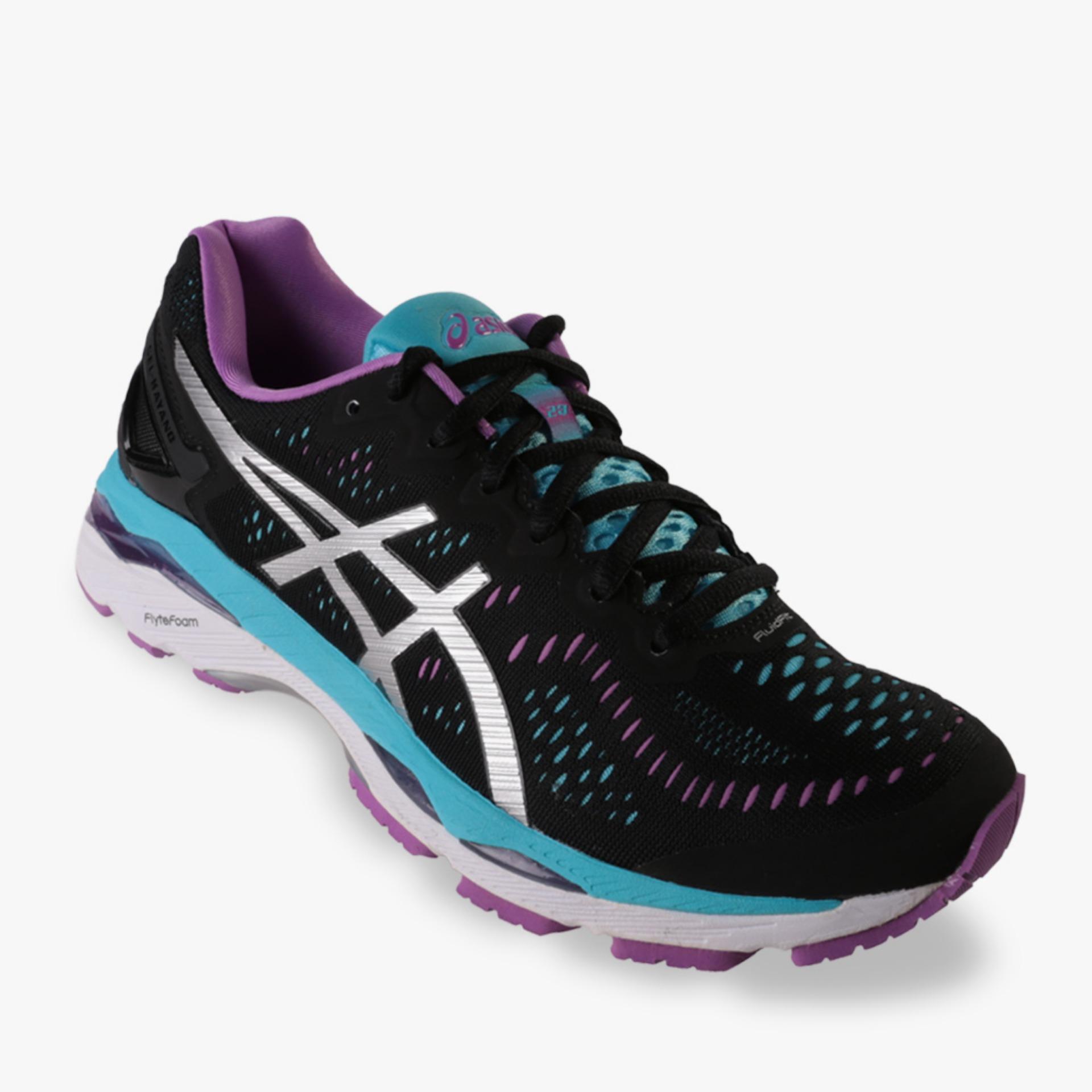 Jual Aiscs Gel Kayano 23 Women S Running Shoes Hitam Grosir