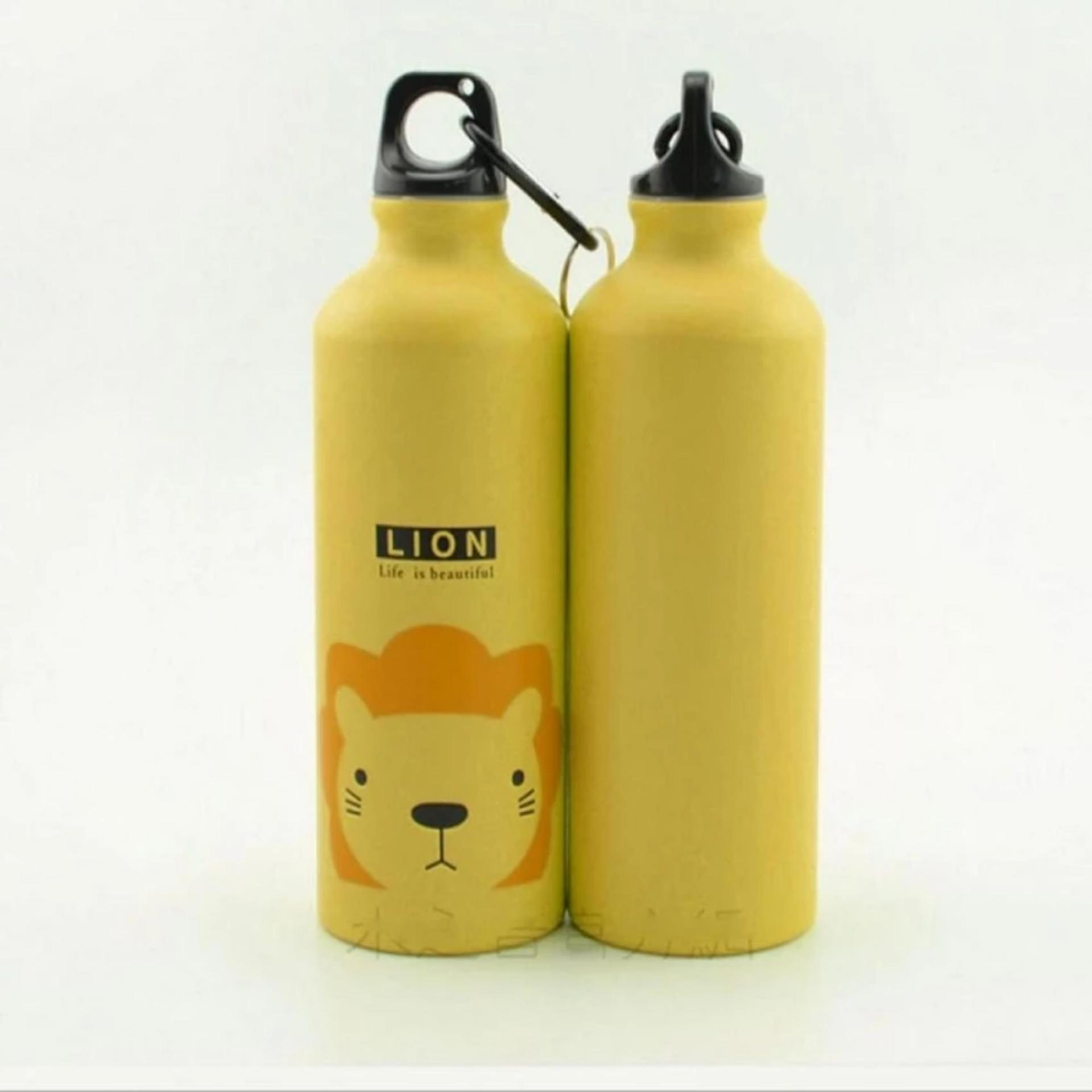 Kategori Botol Minum Olahraga Murah Spesifikasi Review Harga New B Dengan Spray 600ml Aiueo Aluminium Karakter 500ml Karabiner