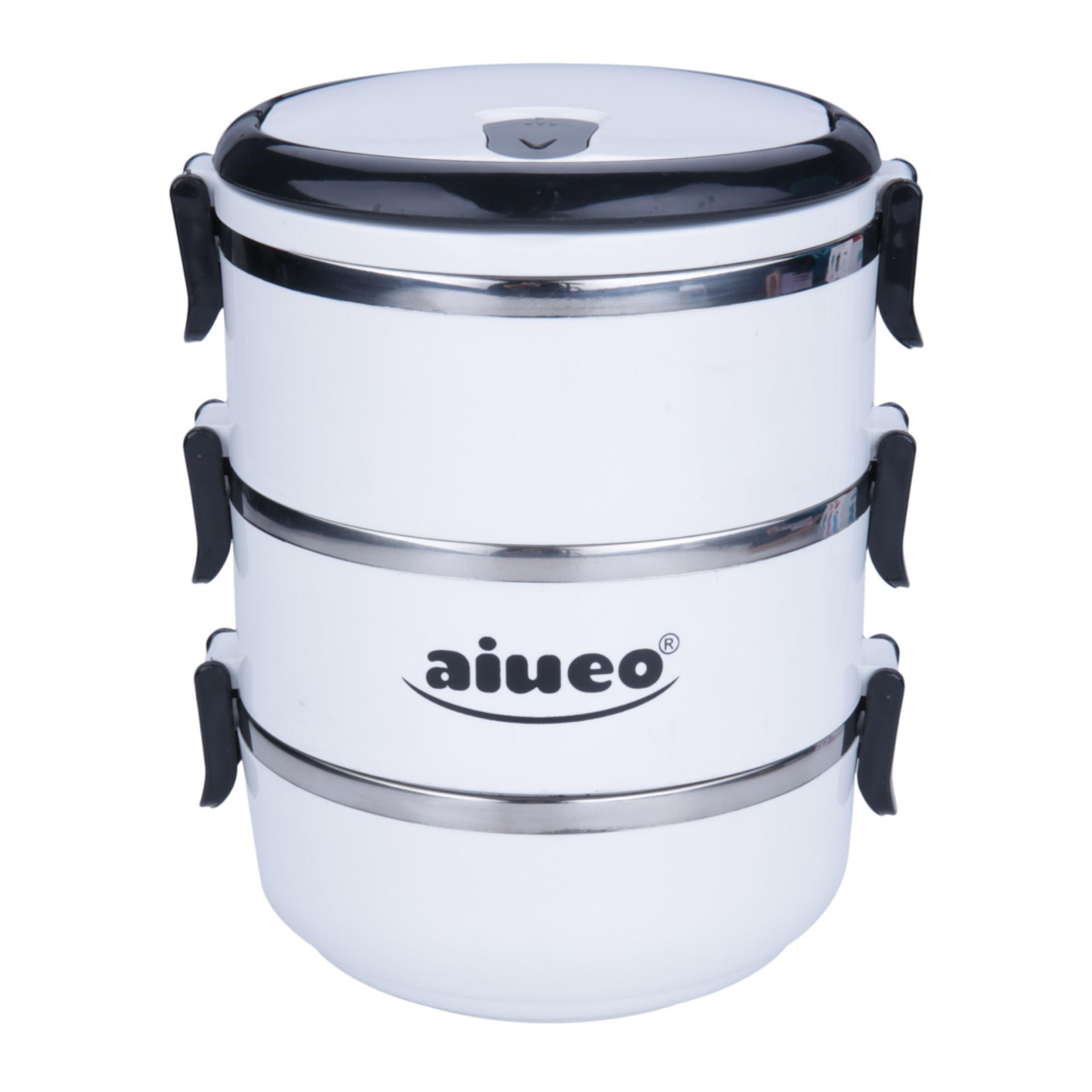Kantung Makan Termurah Yooyee Lunch Box Kotak Sup Bento Hijau Aiueo Eco Stainless Steel Rantang 3 Susun Glossy