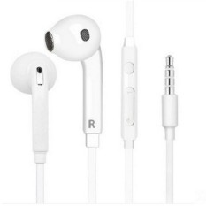Ajkoy 3.5 Standar Headphone Pengurangan Kebisingan Garis Bass Headphone Universal-Intl