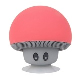 Diskon Produk Ajkoy Mini Nirkabel Portabel Bluetooth Speaker Mini Bluetooth Jamur Speaker Mini Speaker Untuk Mobile Iphone Ipad Tablet Pc Merah Intl