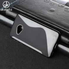 AKABEILA untuk HTC U Play Sline TPU Silicone Back Cover untuk Alpine 5.2 Inch S Line Soft Phone Case Hitam Sederhana Tas Ponsel Case-Internasional