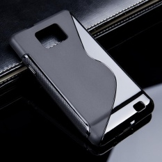 AKABEILA untuk Samsung I9100 Galaxy S II 4.3 Inch Case Sline Kasus Pelindung Telepon Cocok untuk I9100G I9108 I9100p SII S2 GT-I9100 S LINE TPU Slim Soft Silicone Cover Skin Shell Perumahan Bumper-Internasional