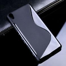 AKABEILA FOR SONY Xperia XA Sline TPU Silicone Back Cover FOR SONY F3111 F3113 F3115 F3112 5.0 Inch S Line Soft Phone Case Black Sederhana Tas Ponsel Case