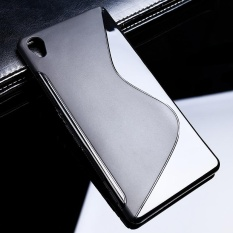 Beli Akabeila Untuk Sony Xperia Z3 Sline Tpu Silicone Back Cover Untuk Sony L55U D6603 5 2 Inch S Line Soft Phone Case Black Sederhana Tas Ponsel Case Internasional Pake Kartu Kredit