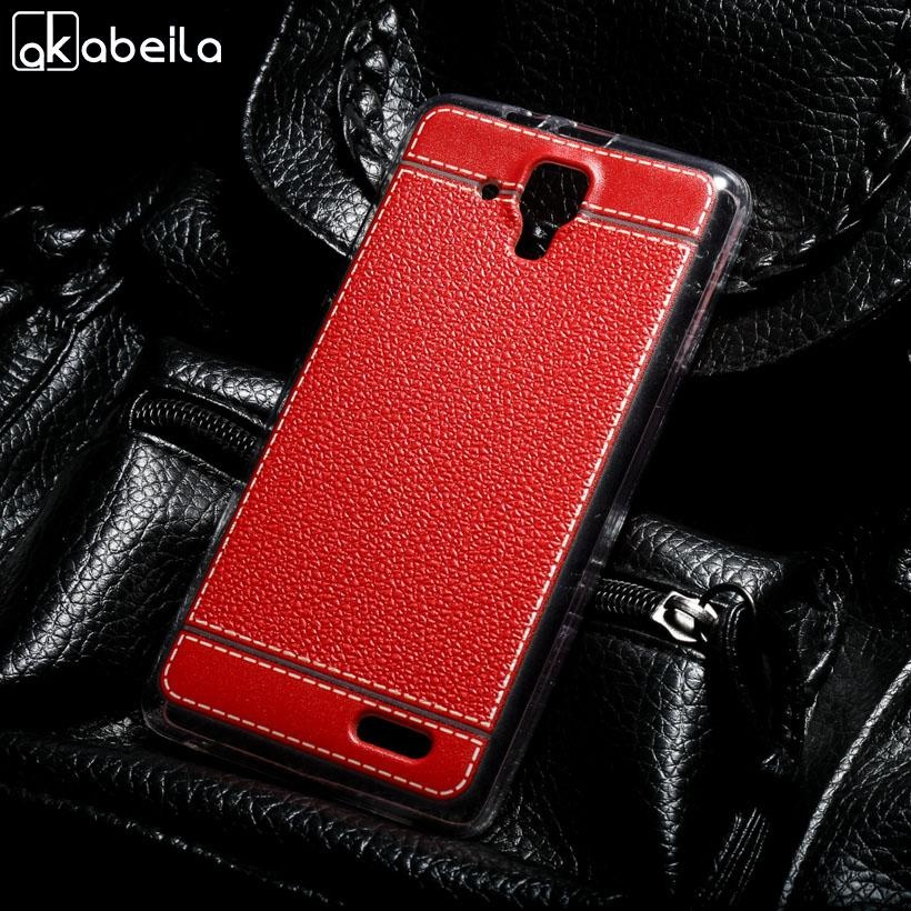 AKABEILA Lembut TPU Ponsel Cover Kasus PENUTUP untuk Lenovo A536 A358T A 536 5.0 Inch Meliputi Litchi Tas Telepon Shell Back Silicone Hood Perumahan Kulit