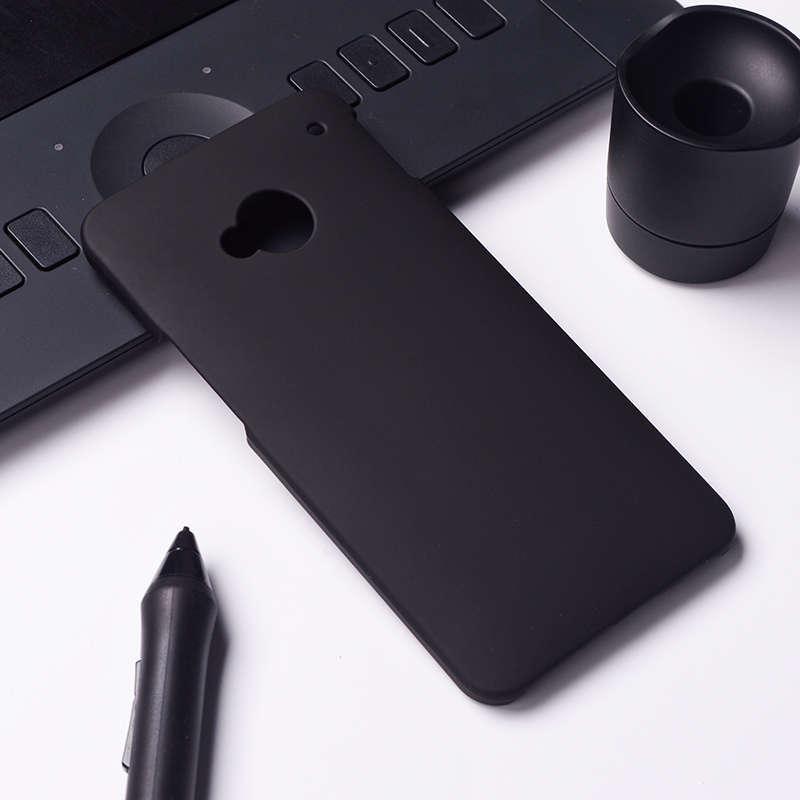 Akabeila Minyak Berlapis Karet Kasus Telepon untuk HTC ONE M7 802 W Dual SIM 802D 802 T 4.7 Inch Meliputi Phone Back Plastik Telepon Matte Case Bag Perumahan Protector Shell Hood-Intl
