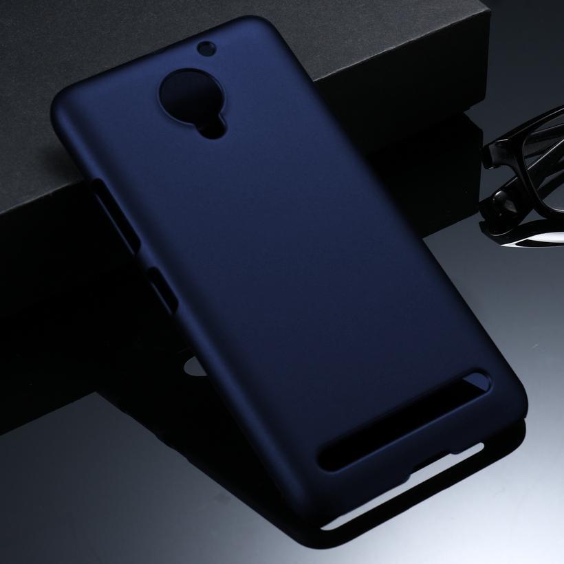 Akabeila Minyak Berlapis Karet Kasus Telepon untuk Lenovo VIBE C2 K10A40 C2 Power 5.0 Inch Meliputi Phone Back Plastik Telepon Matte Case Bag Perumahan Protector Shell Hood-Intl