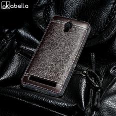 AKABEILA Lembut TPU Ponsel Cover Case untuk ASUS Zen Fone C ZC451CG Z007 ZenfoneC 4.5 Inch Meliputi Litchi Tas Telepon Shell Silikon Belakang Hood Perumahan Kulit-Intl