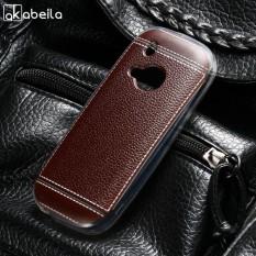 AKABEILA Lembut TPU Ponsel Cover Kasus untuk Nokia 3310 (2017) 2.4 Inch Meliputi Litchi Phone Silicone Hood Perumahan Belakang-Intl