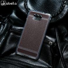 AKABEILA Soft TPU Phone Cover Case untuk Samsung Galaxy Alpha G850F G850T G850M G850FQ G850Y Galaxy Alfa G850 G8508 G8509V G8508S 4.7 Inch Meliputi Litchi Phone Silicone Hood Perumahan Belakang-Intl