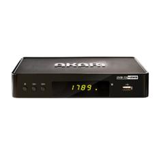 Akari Set Top Box DVB-T2 dengan EWS - ADS-168 - Hitam