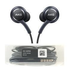 AKG Headset / Handsfree In Ear Earphone Jack 3.5mm For Samsung Galaxy S8 S8+ - Hitam
