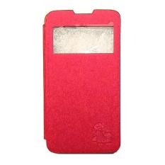 Akira Flip Leather Case Acer Liquid Z4 - Merah