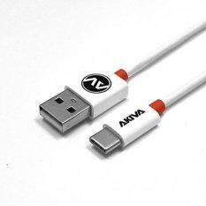 Akiva USB-C 3.1 Ke USB 2.0 Kabel Di 3.3ft (1 M) OTG Kabel untuk Perangkat Tipe-c, Termasuk Macbook, Chromebook Pixel, Ponsel OnePlus, Nexus 5X & 6 P, Huawei P9, MOTO Z dan Lainnya. -Intl