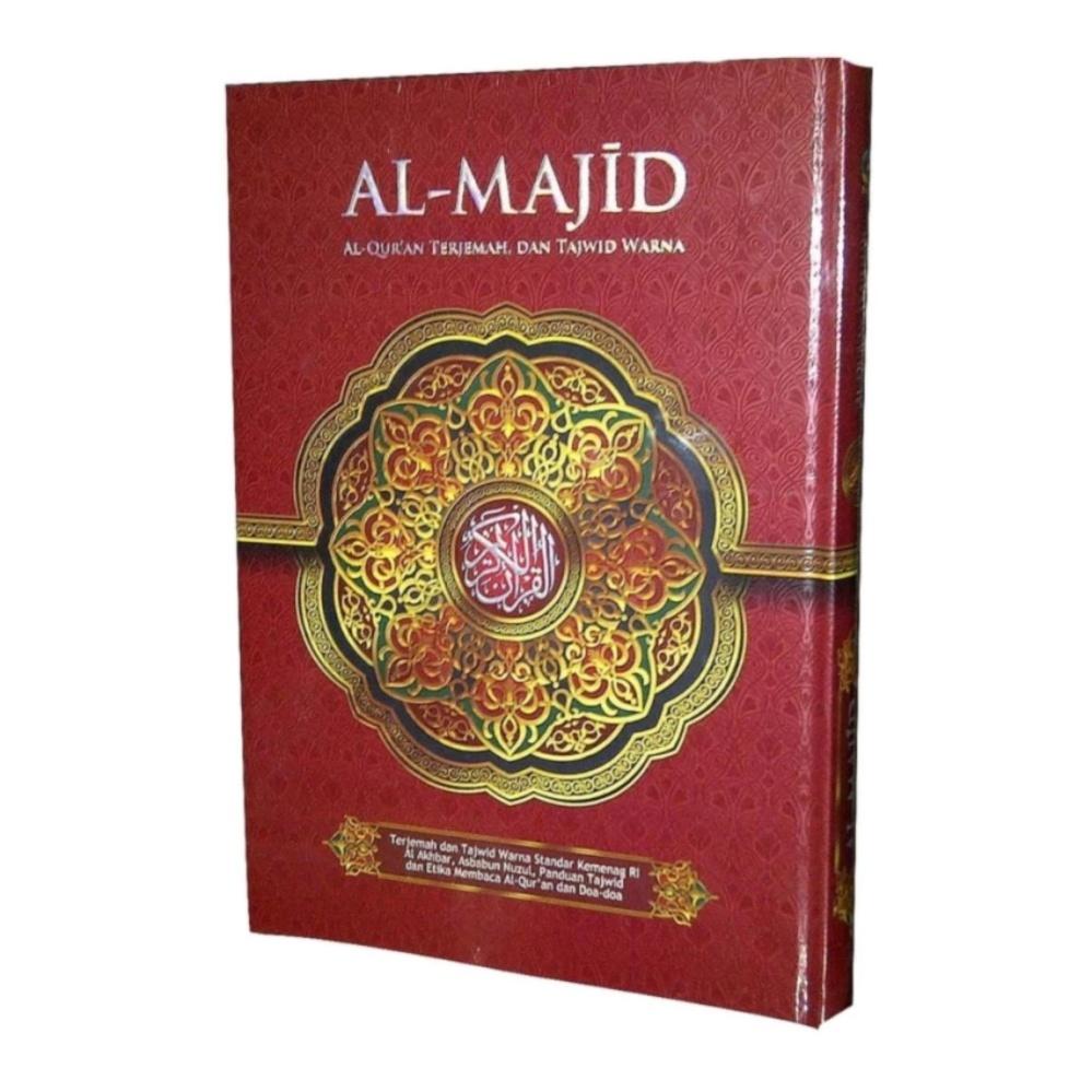 Beli Al Qur An Al Majid Terjemah Dan Tajwid Warna A5 Merah Online Terpercaya