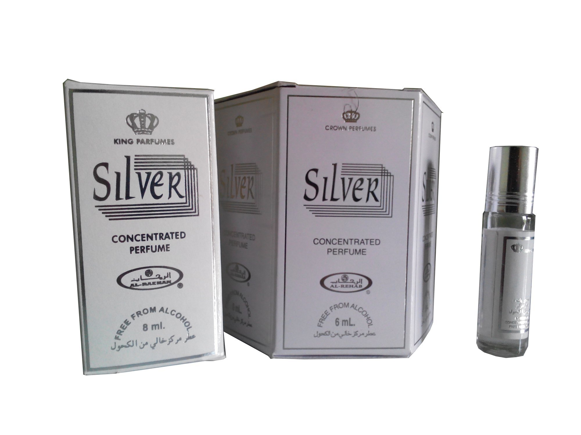Harga Al Rehab Parfum Silver 6 Botol Al Rehab Ori