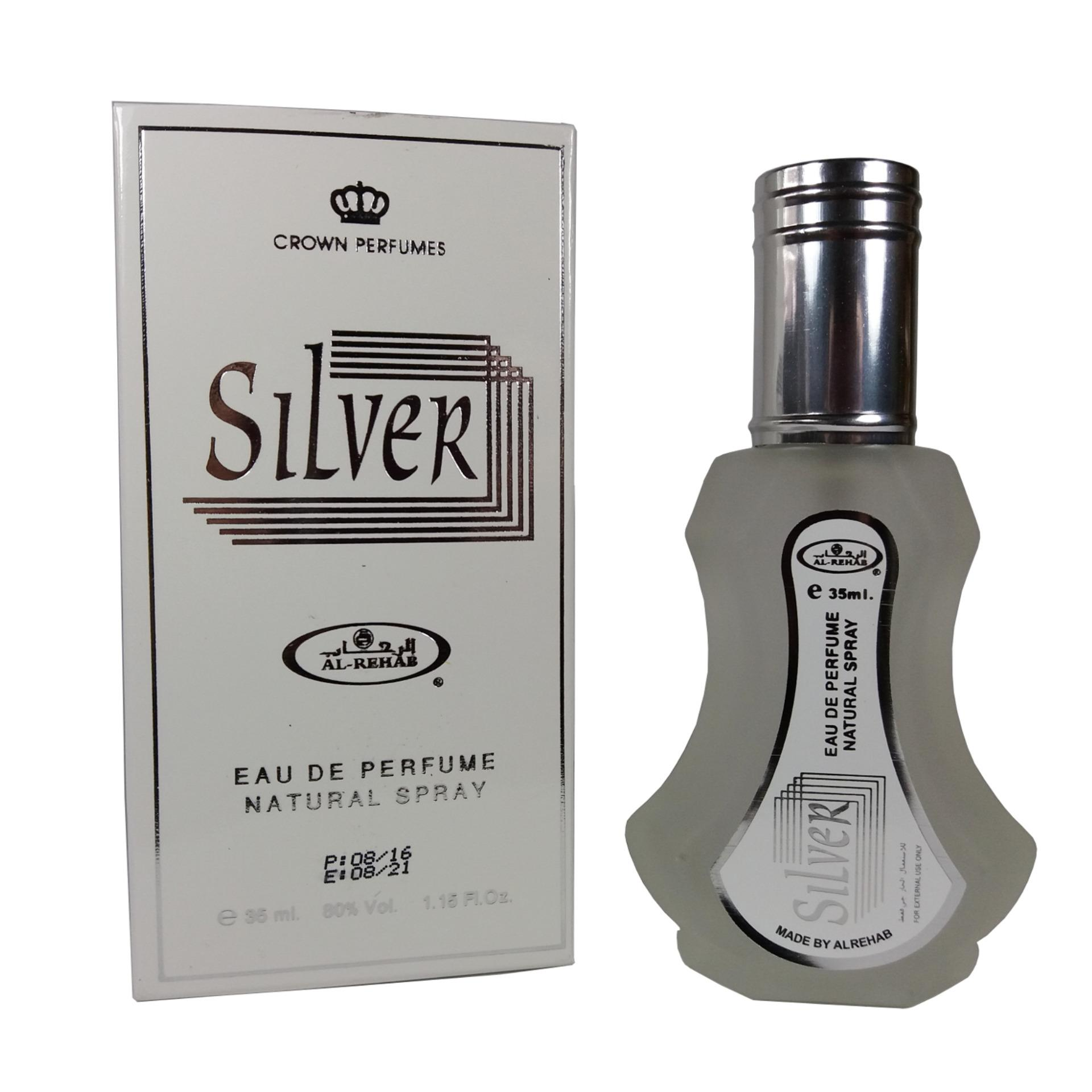 Diskon Al Rehab Parfum Silver Spray 35Ml