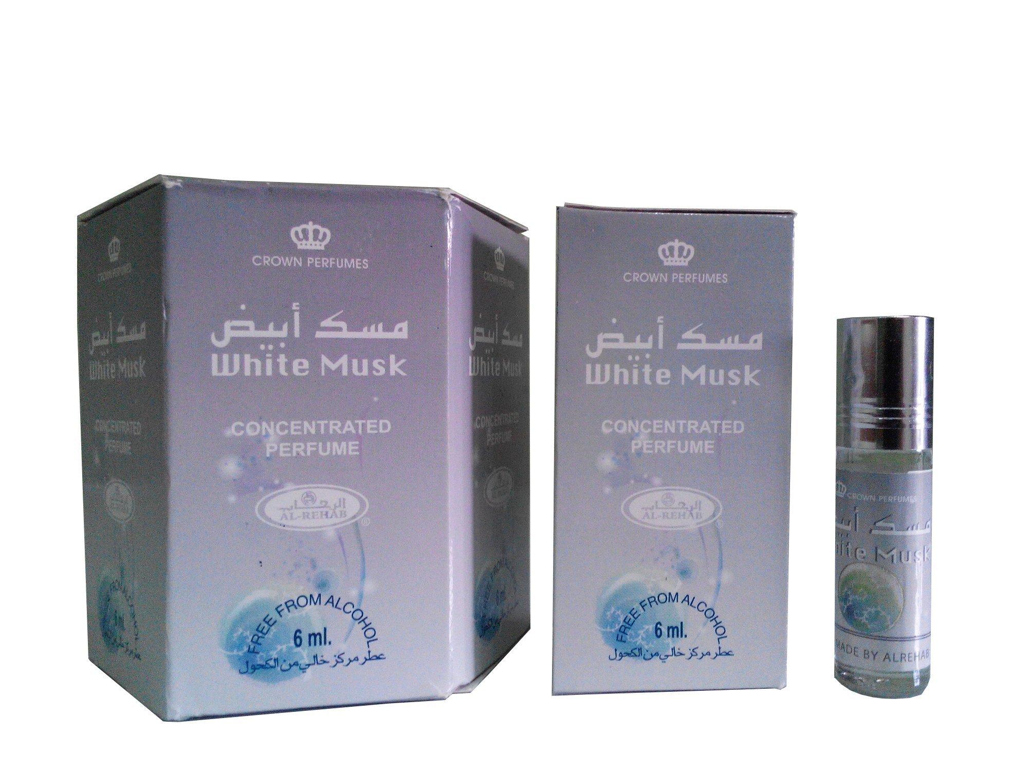 Harga Al Rehab Parfum White Musk 6 Botol Al Rehab Terbaik