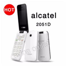 Alcatel Caramel Flip 2051d - Putih