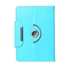 Alcatel OneTouch EVO 8HD Casing 360 Rotate Tablet Cover Case - Biru