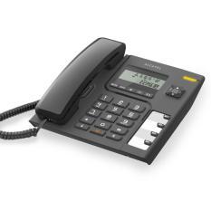 ALCATEL telepon telephone rumah office hotel T56 - hitam