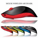 Harga Alcatroz Wireless Mouse Charge Air Shark Hitam Merah Lengkap