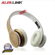Spek Alfa Link Bluetooth Headset Bth 330 Gold Dki Jakarta