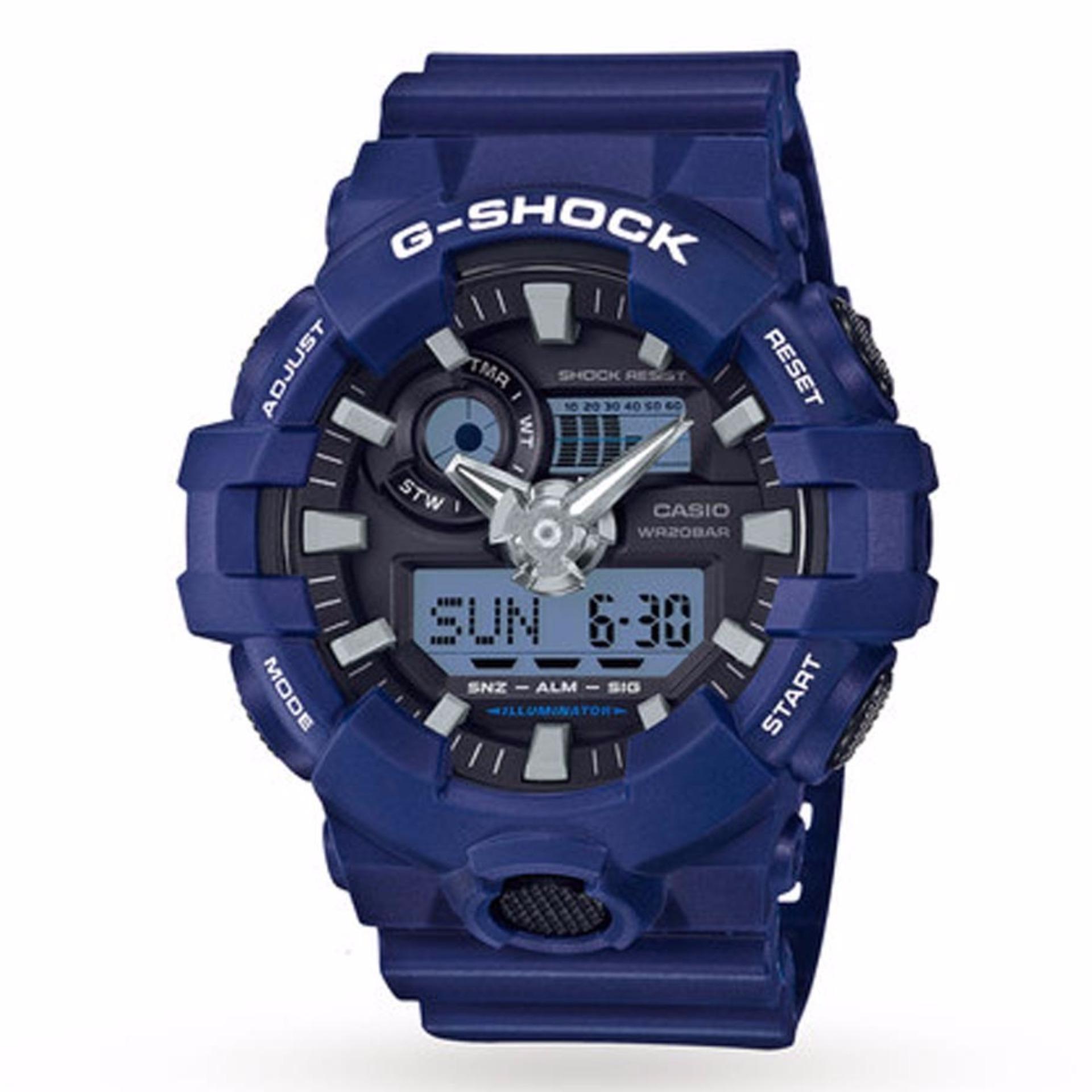Alghani Watch G-SHOCK GA700SERIES Jam Tangan Sport Pria Analog/Digital - Tali Karet