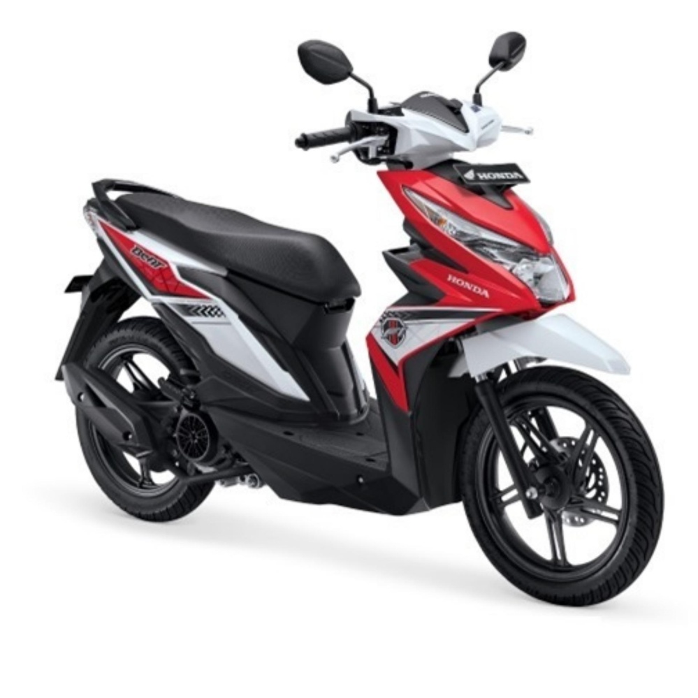 ALL NEW BEAT SPORTY ESP CBS - FUNK RED BLACK KAB.KARAWANG