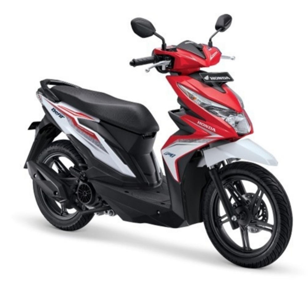 ALL NEW BEAT SPORTY ESP CBS ISS - SOUL RED WHITE KAB. GRESIK