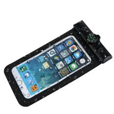 ALLOYSEED umum kompas case tahan air tas tahan air untuk ponsel dengan Super fungsi tahan air dan lulus IPX8 tahan air dudukanar cocok untuk 10.16 cm untuk 14.73 cm ponsel - Internasional