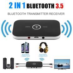 Harga Allwin 2 In 1 Nirkabel Bluetooth Audio Stereo Transmitter Receiver Adaptor Hitam Intl Lengkap