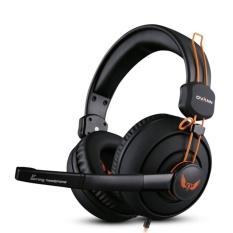 Allwin Ovann X7 Gaming Headphone dengan Mikrofon Big EarmuffsGamer Studio Bass-Intl