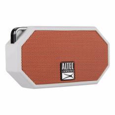 Altec Lansing IMW258 Mini H2O 3 Portable Waterproof (IP67) Speaker (orange putih) - Original Garansi Resmi 1 Tahun