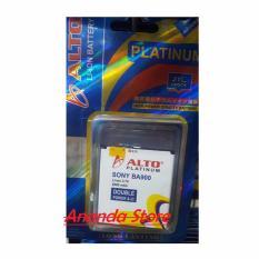 ALTO Baterai Double Power & Ic Sony BA900 Baterai for Xperia J/Xperia TX/Xperia/GX [2800 mAh]