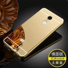 Aluminium Luxury Mirror Bumper Hardcase Xiaomi Redmi Note 4