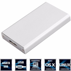 Toko Aluminium Sata To Usb 3 External Hard Drive Enclosure Supports Uasp For 2 5 Inch Hdd And Ssd Intl Lengkap