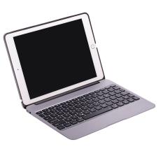 Tips Beli Aluminium Case Keyboard X6 Dengan 7Warnd Lampu Latar Untuk Ipad Air2 Dan Ipad Pro 24 64 Cm Silver