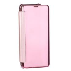 Aluminium Cermin Logam Case Cover Kulit untuk Samsung S8 Berbagai Ponsel (Rose Emas)-Intl